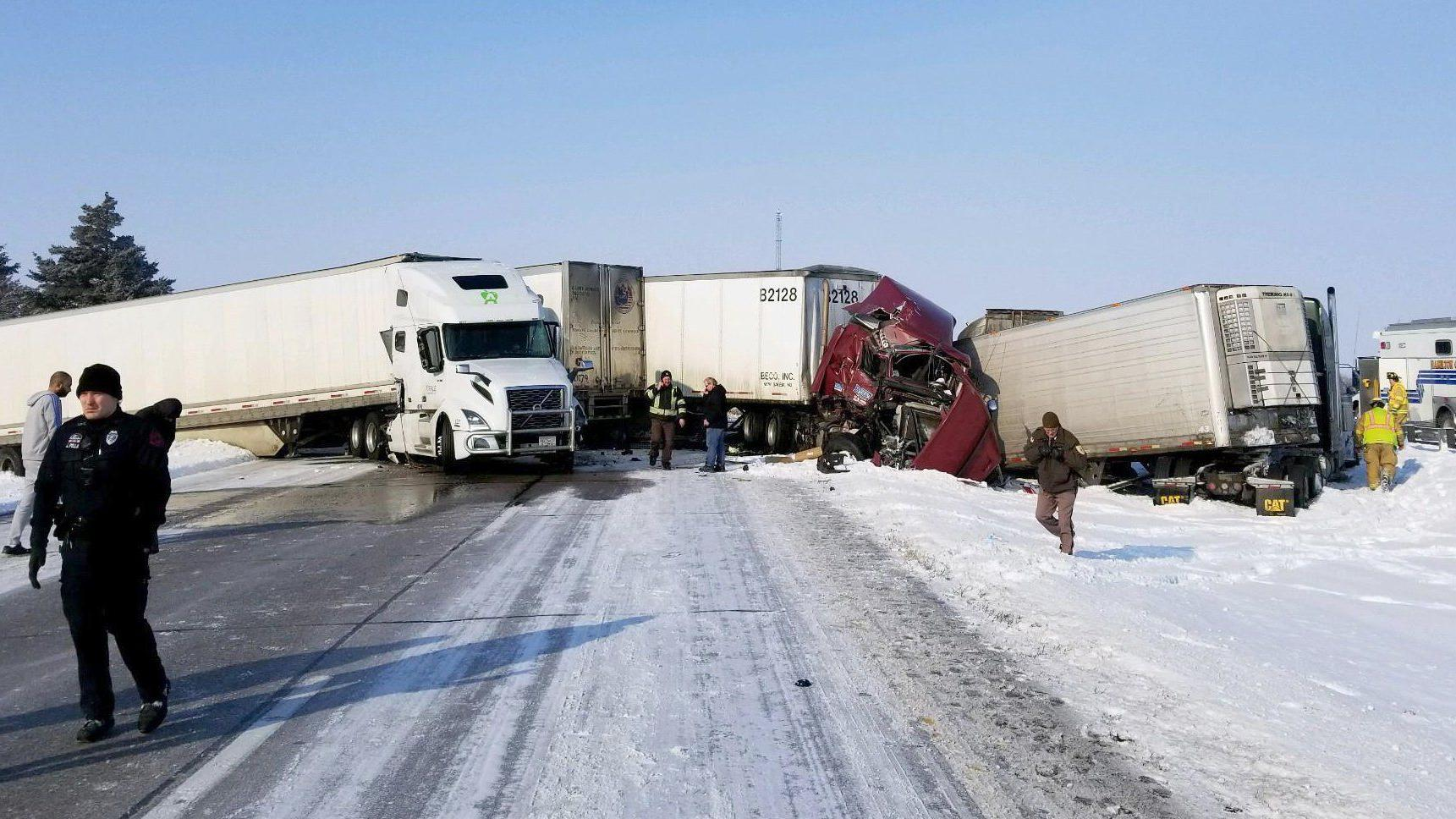 Indiana man dies after Wednesday pileup on I-80 involving 11 vehicles | Public Safety