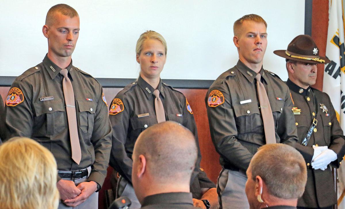 Deputies sworn in, promoted, recognized in ceremony