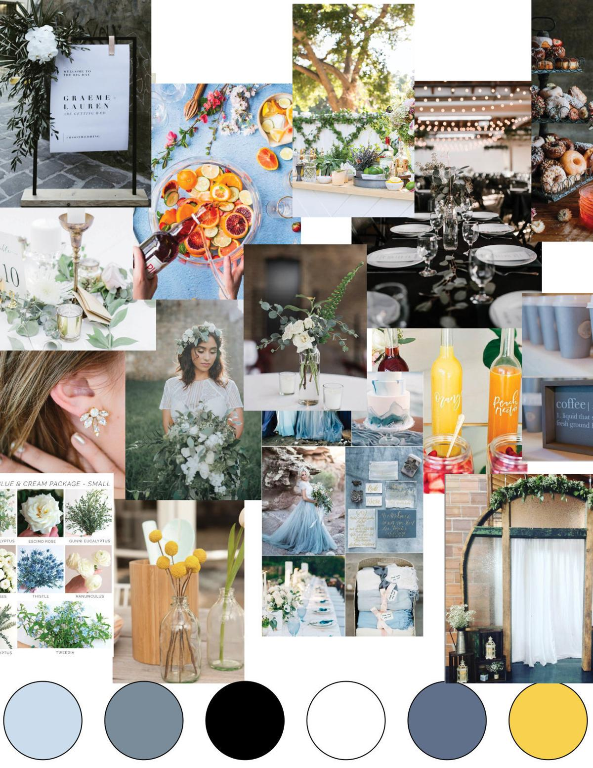 Jordan's wedding mood board