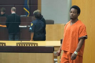 Otis Walker in court