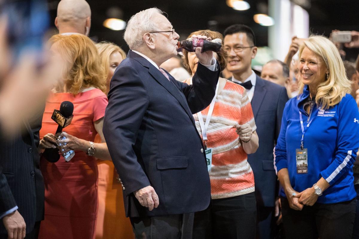 Buffett at 2017 meeting