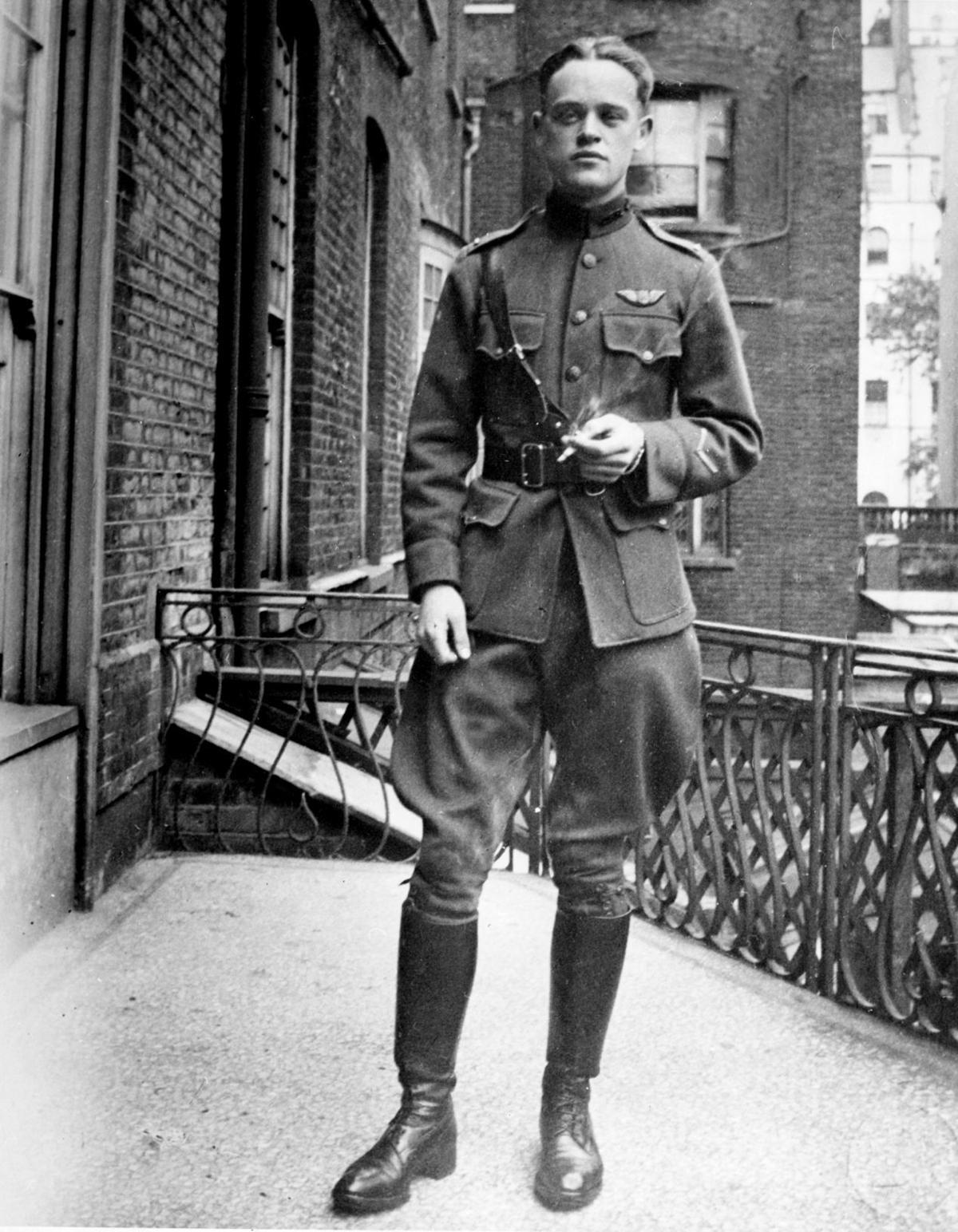Jarvis Offutt in uniform