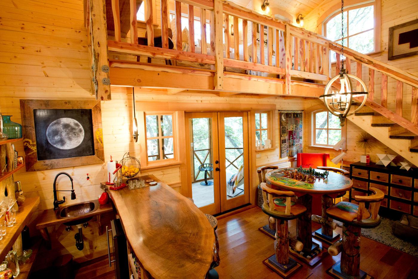 Treehouse masters interior Beautiful Dream Treehouse Grew In Nebraska Thanks To Reality Tv Show Living Omahacom Omaha Worldherald Dream Treehouse Grew In Nebraska Thanks To Reality Tv Show