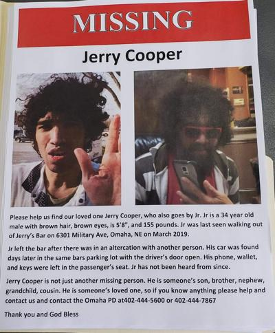 Jerry Cooper Missing Poster