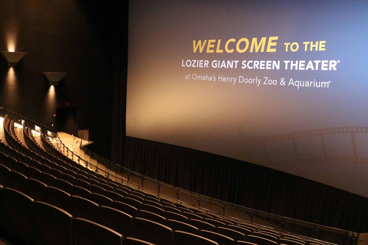 3cbe286d4c The zoo's new giant screen theater is complete after a $1.2 million  renovation