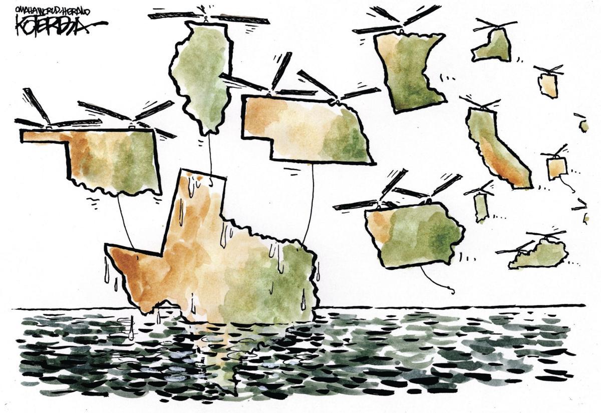 Back at You: Koterba cartoons on natural disasters - Sept. 3, 2017