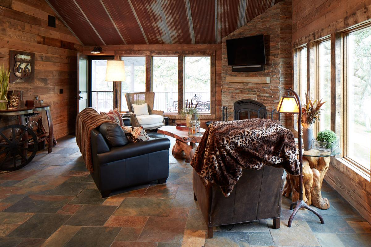A Rustic Redo Family S Past Brings Unique Look To