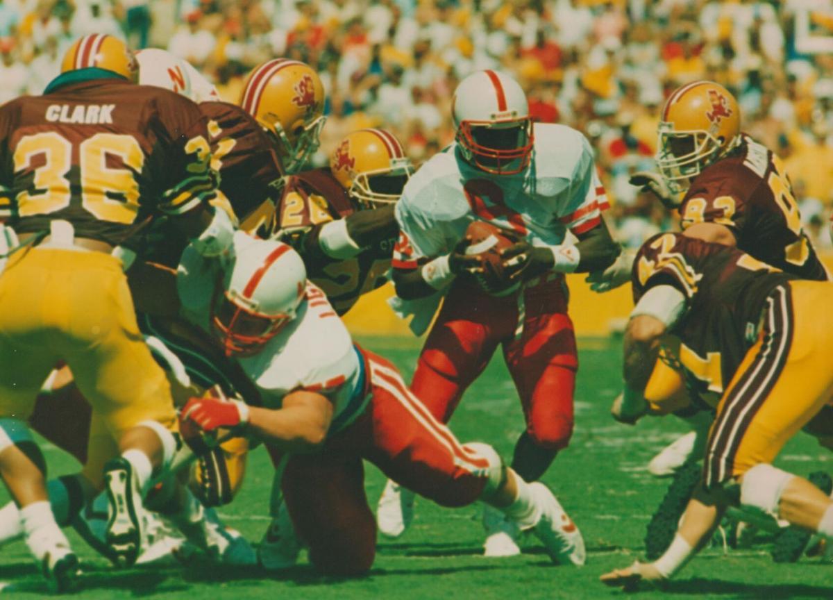 Keven Lightner, Steve Taylor, NU football