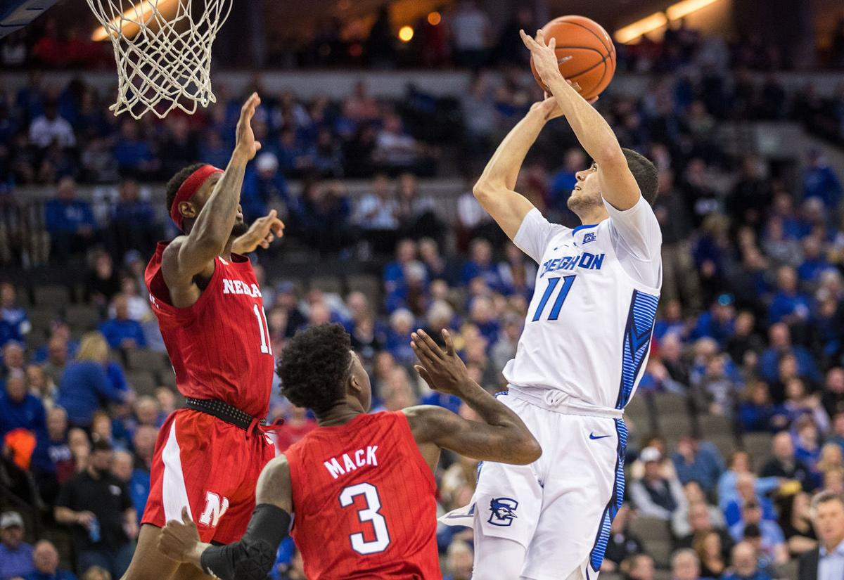 Creighton earns 12th straight home win against Nebraska as Jays' first-half onslaught buries Huskers