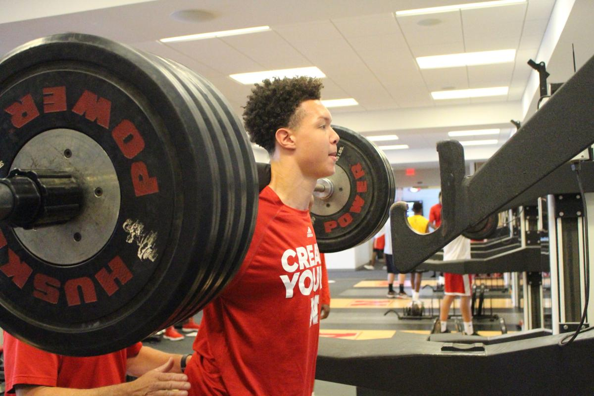 Husker sophomore Isaiah Roby gets to work in weight room, seeks a breakout year on the court