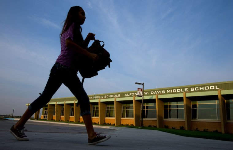 A Few Fits And Starts On The First Day At Ops New Davis Middle