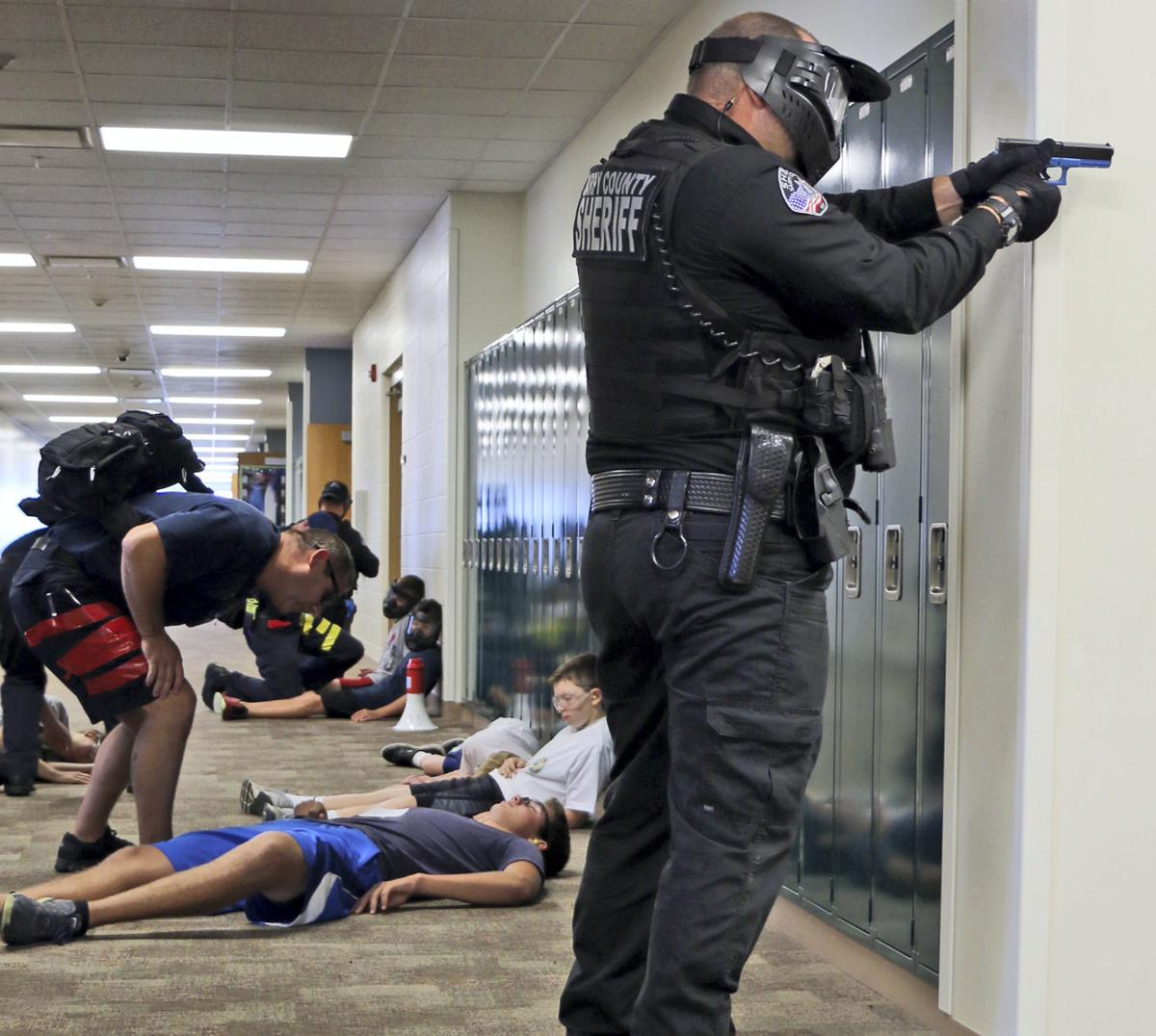 School Shooting Because Of Video Games: Rescue Task Force Trains For Active Shooter Incidents