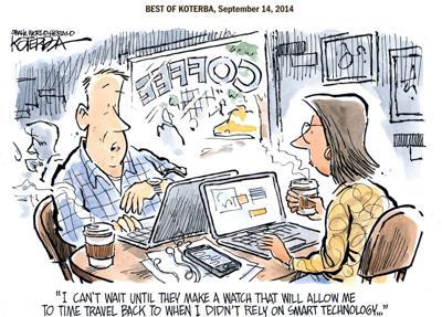 Best of Jeff Koterba's cartoons: Now that's sci-fi