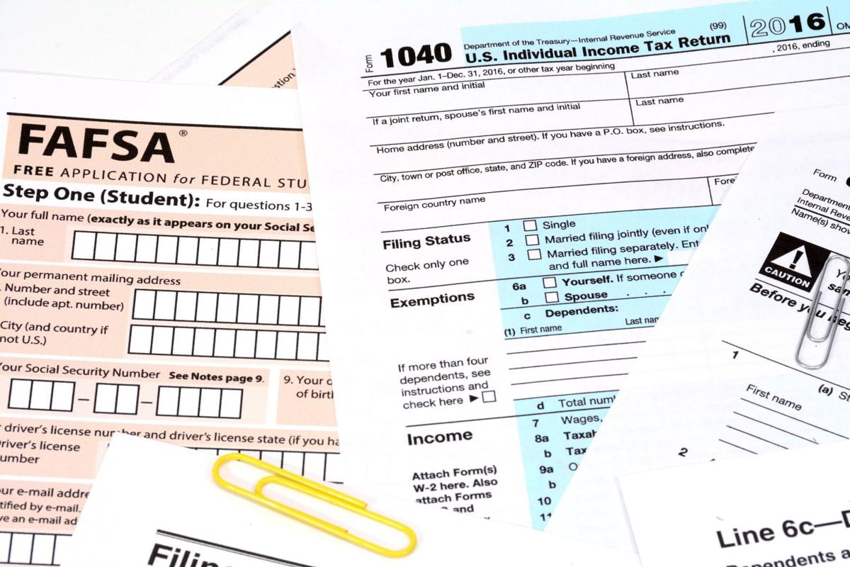 Filling out the FAFSA: What you need to know   Special Sections ...