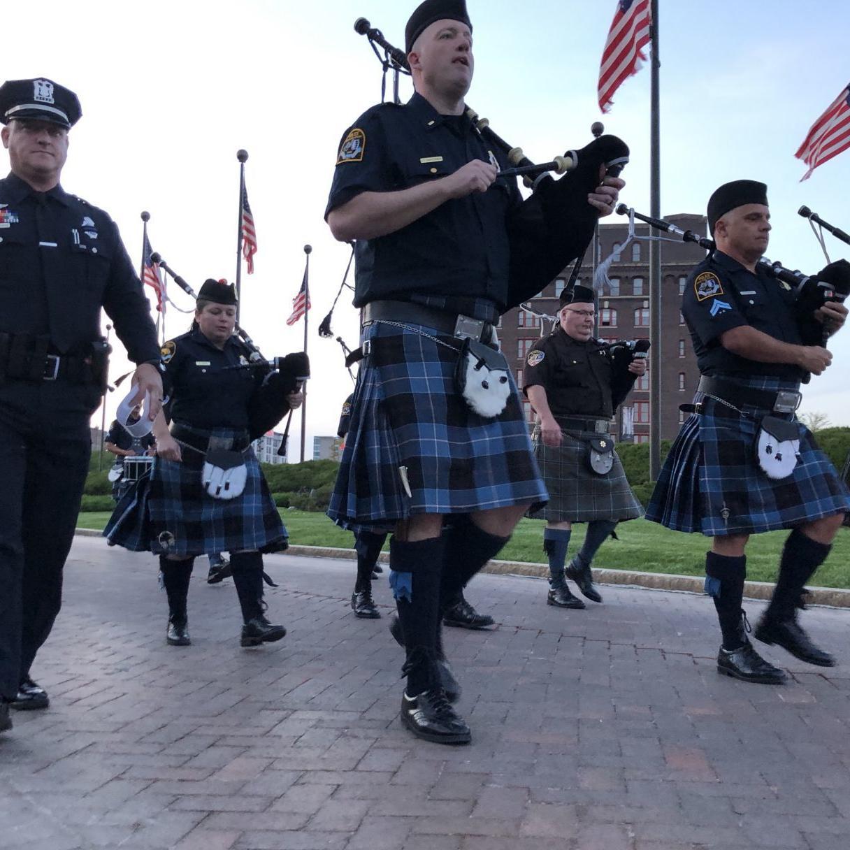 200 walk in downtown Omaha in memory of fallen law