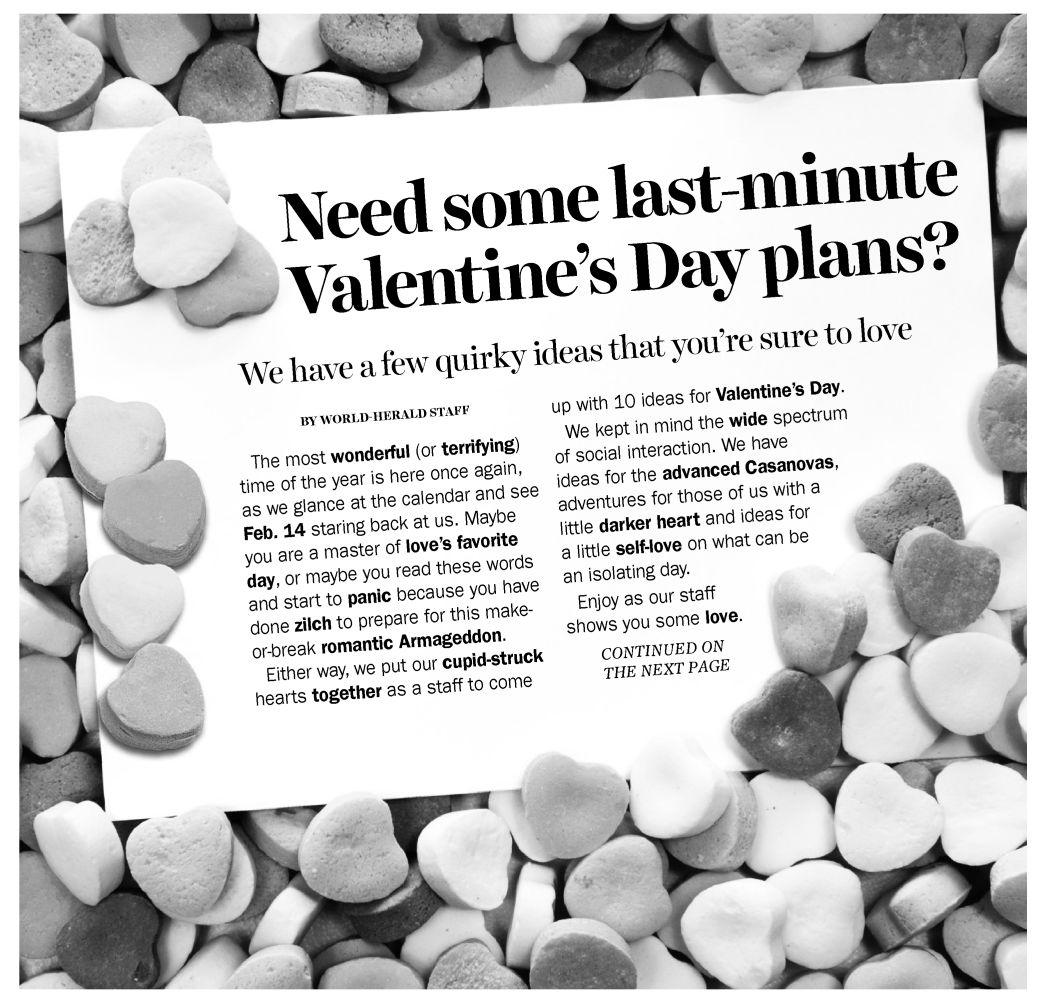 Need some last-minute Valentine's Day plans?