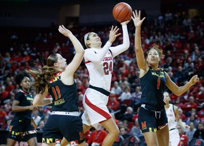 'I wanted to go out with a bang': Maddie Simon glad Huskers face Iowa in her final home game