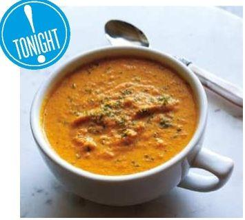 Creamy No-Cream Curried Carrot Soup