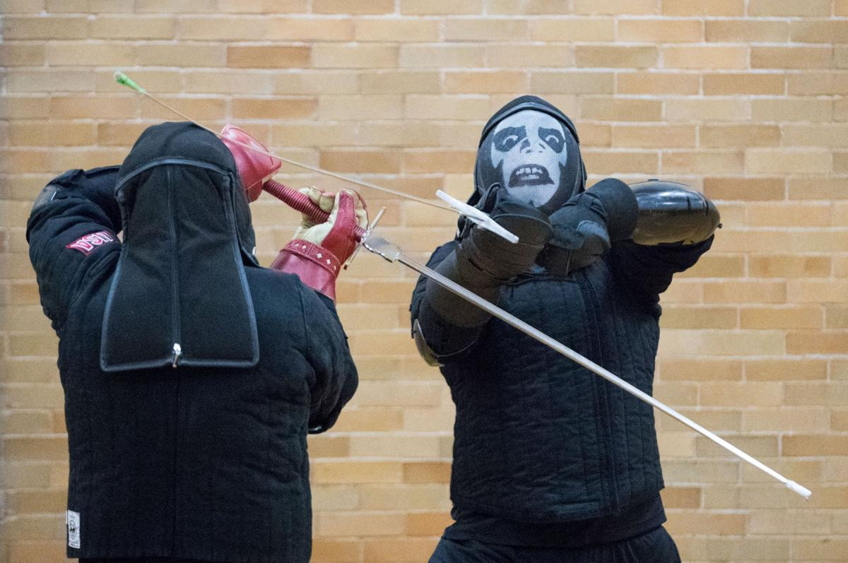 It's a contact sport': Serious about their swordplay, Omaha