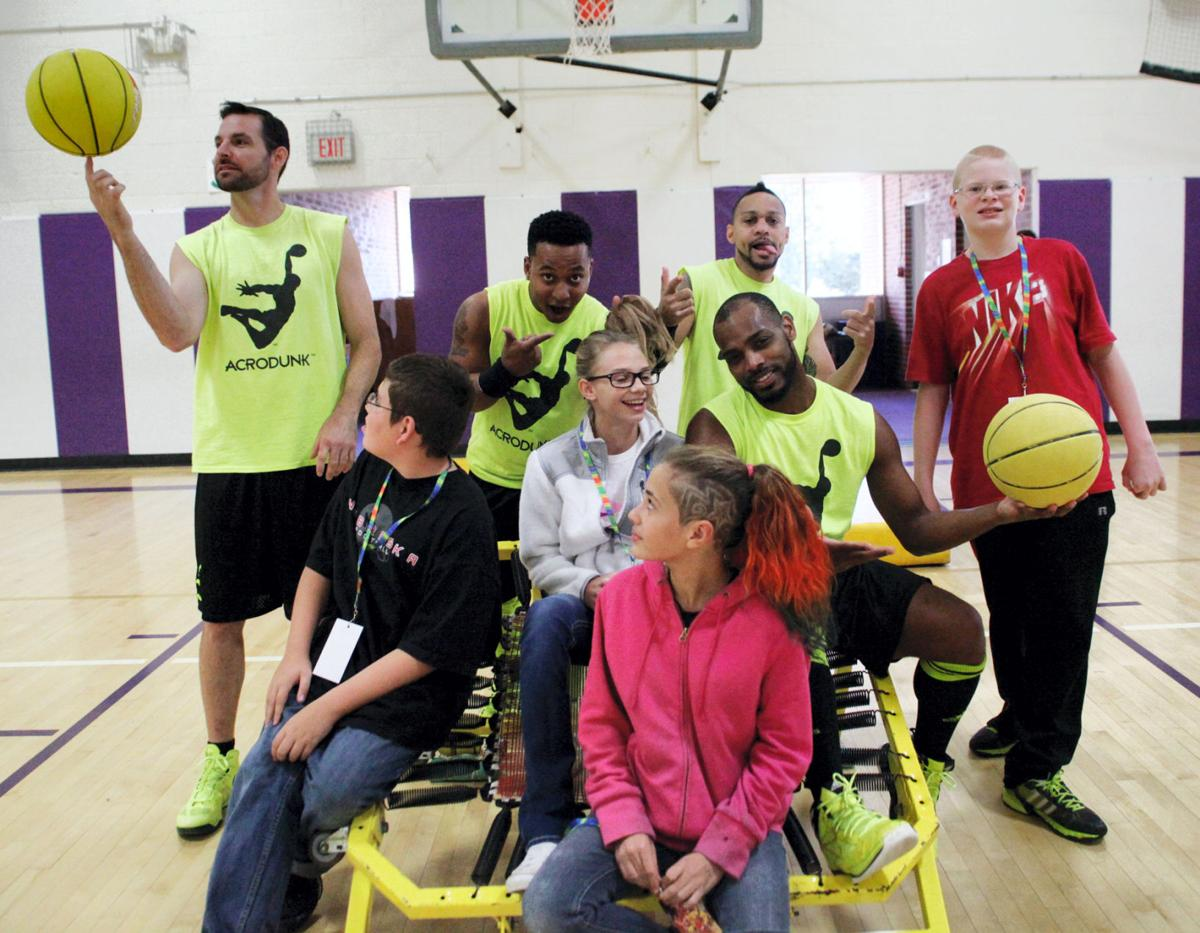 Mission students net visit from Acrodunk