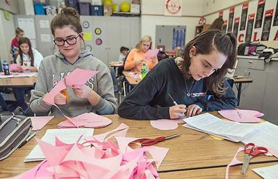 Candy Crush High Schools Student Fundraisers Spread Valentines
