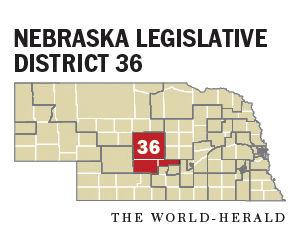 Legislative District 36 map