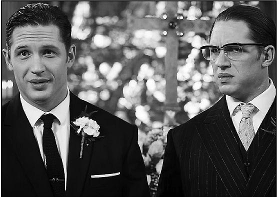 Tom Hardy shows dual talent in 'Legend'
