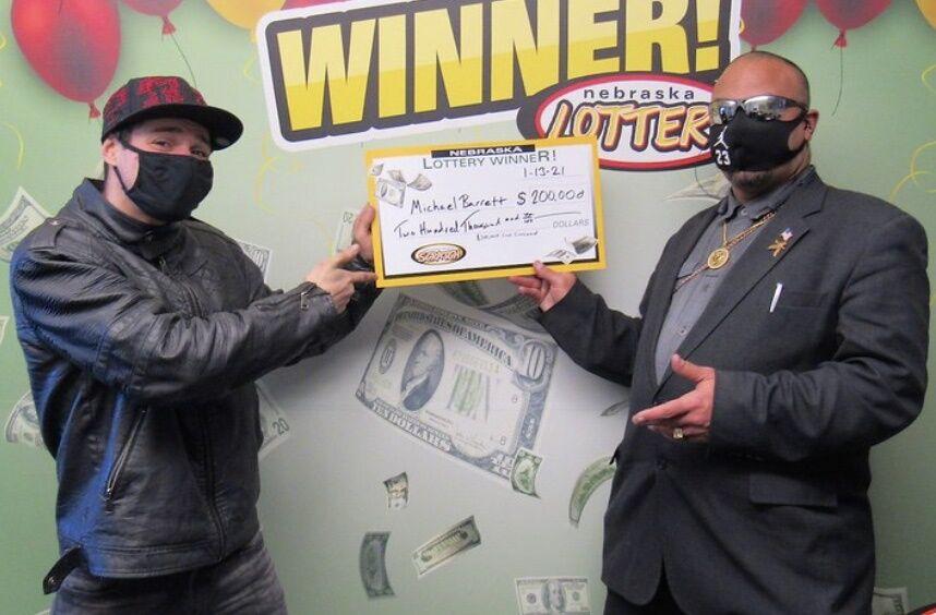 Michael Barrett lottery