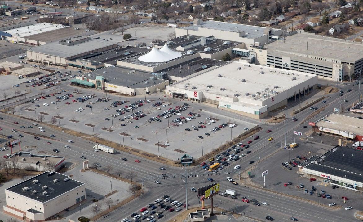 Crossroads Mall aerial 2014