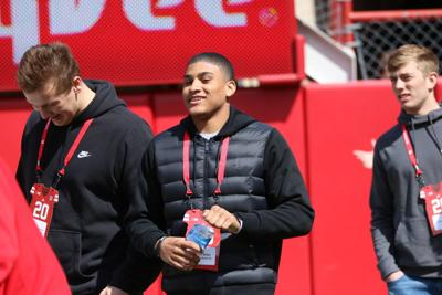 Burke wide receiver Xavier Watts growing 'comfortable' with Husker assistant Troy Walters