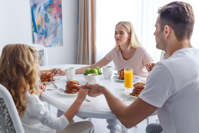 Don' t introduce a new partner to your family until you' re sure he' s in it for the long haul.
