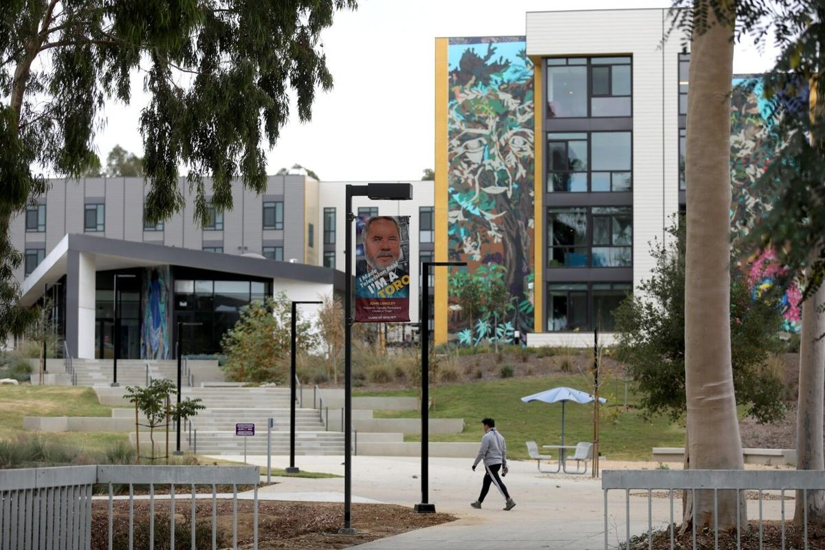 Cal State Dominguez Hills has had a 17% drop in application for the 2021/ 2022 academic year on Thursday, Dec. 17, 2020 in Carson, CA. Sharp increase in UC applications and conversely, a sharp decrease in CSU applications.