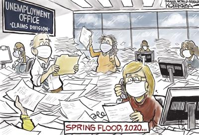 Jeff Koterba's latest cartoon: A different kind of flood