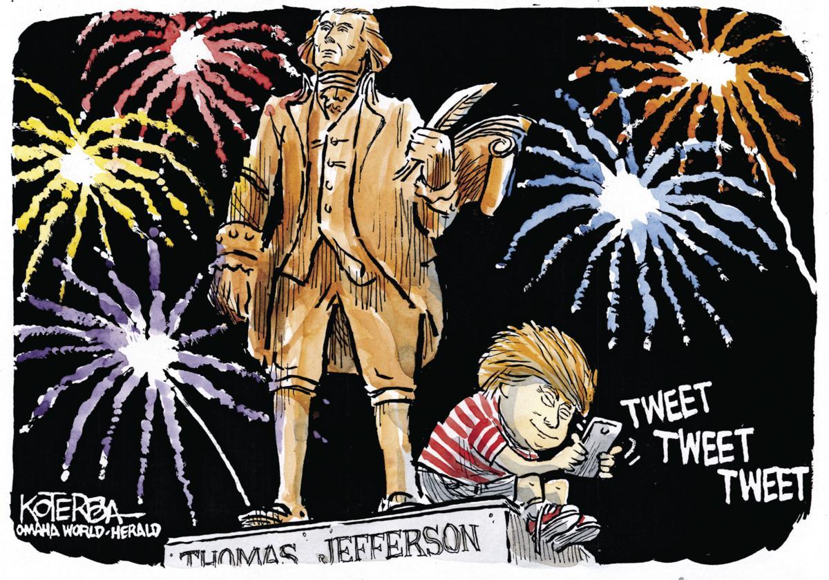 Best of Jeff Koterba: Fireworks cartoons - July 4, 2017