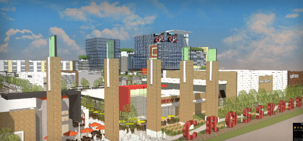 Developers say Crossroads Mall project is on track, though financing on