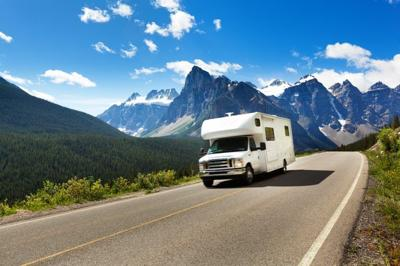 While RV travel may not have the same risks as flying or staying at a hotel, you should still plan for shared restrooms or frequent stops for gas.