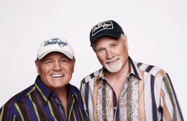 Beach Boys Bruce Johnston And Mike Love