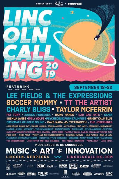 Lincoln Calling 2019 poster