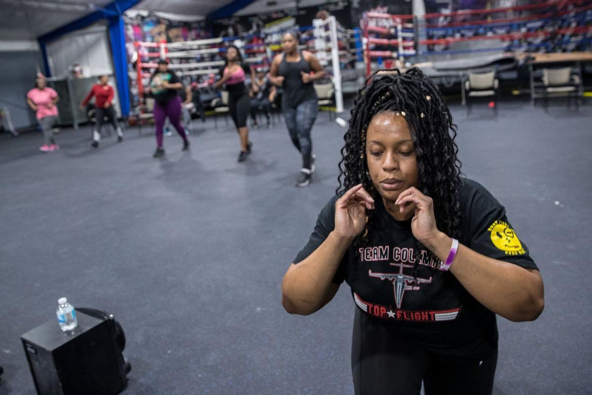 Ashlei Spivey boxing - 2