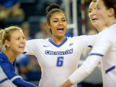 Creighton volleyball wins seventh in last eight matches with sweep of Wyoming