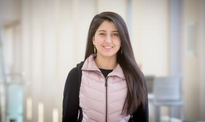 Forced from her home in Iraq, Nibras Khudaida pursues her education dreams at Creighton (copy)