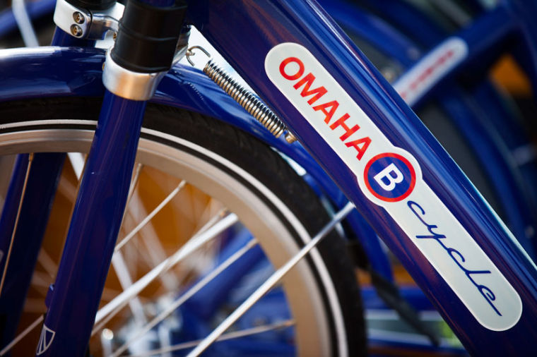 Omaha B-Cycle offers free bike rentals