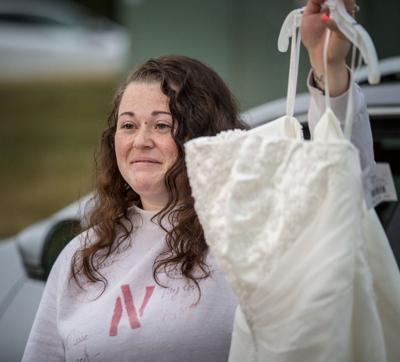 Wedding dress retrieved from fire, 8/8