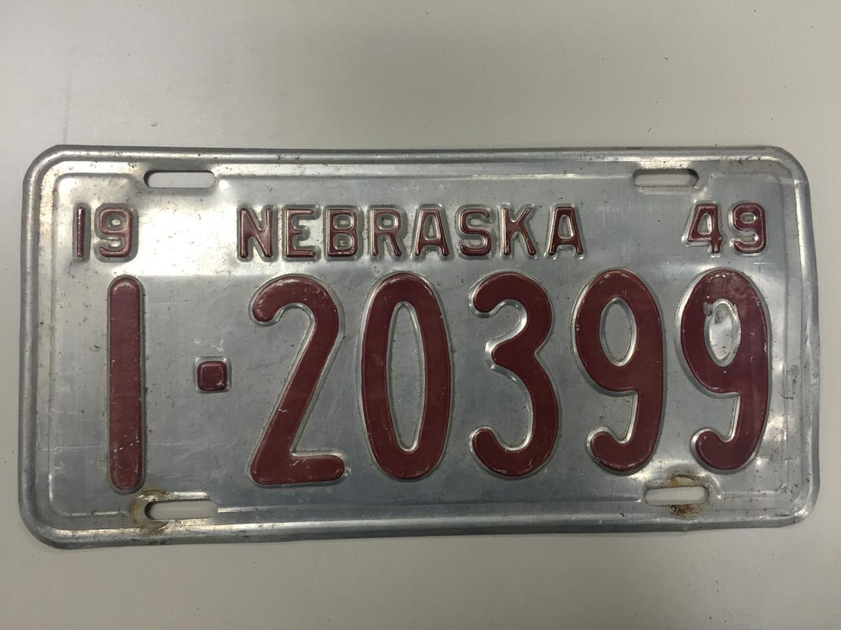 photos nebraska license plates through the years omaha. Black Bedroom Furniture Sets. Home Design Ideas
