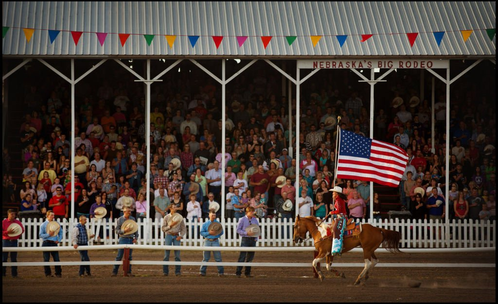 Week in Pictures: Rodeo, Husker fans and Native Omaha Days