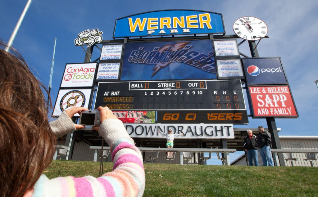 Werner Park fan