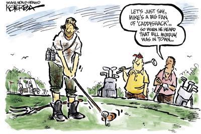 Jeff Koterba's latest cartoon: Teeing up with Bill