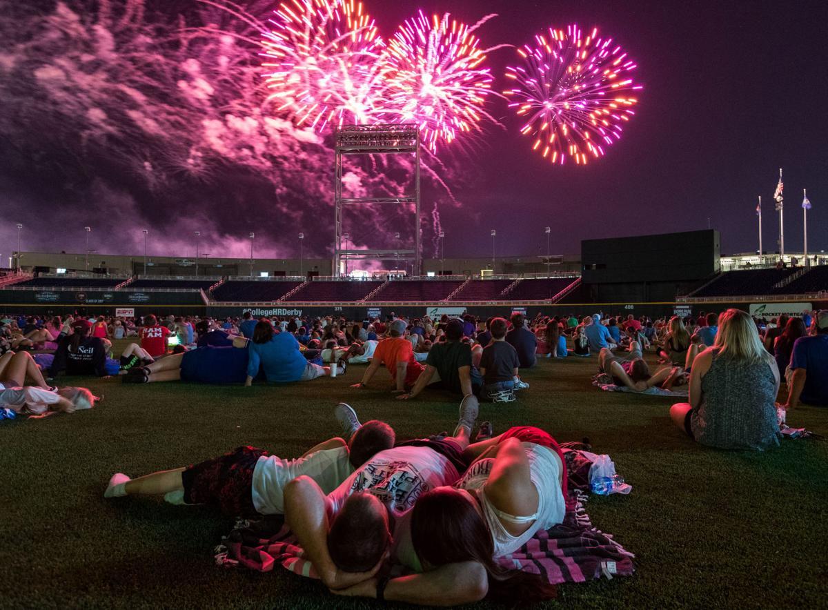 college home run derby omaha world herald fireworks show draw