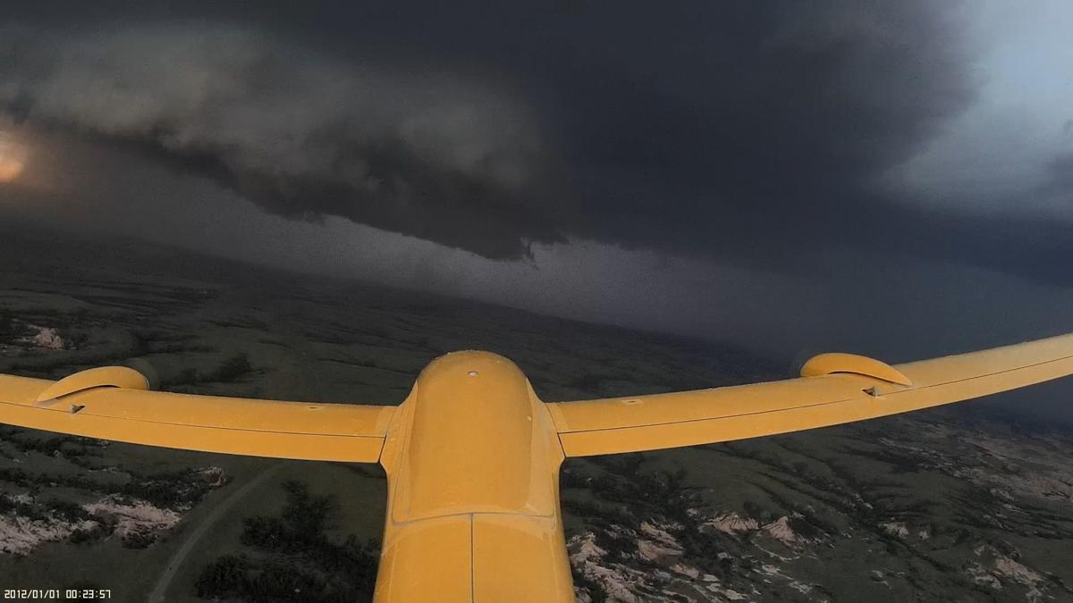 Heading into a storm