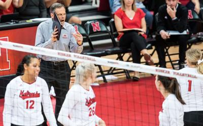Nebraska volleyball coach John Cook wants 'uncomfortable' Asia trip for young Huskers
